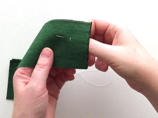 baste stitch step 3