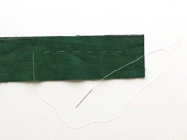 baste stitch final product