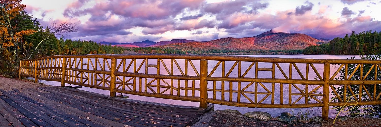 Fall pano overlooking Chocorua Lake
