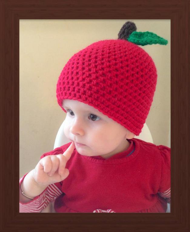 Adorable Apple Crochet Pattern