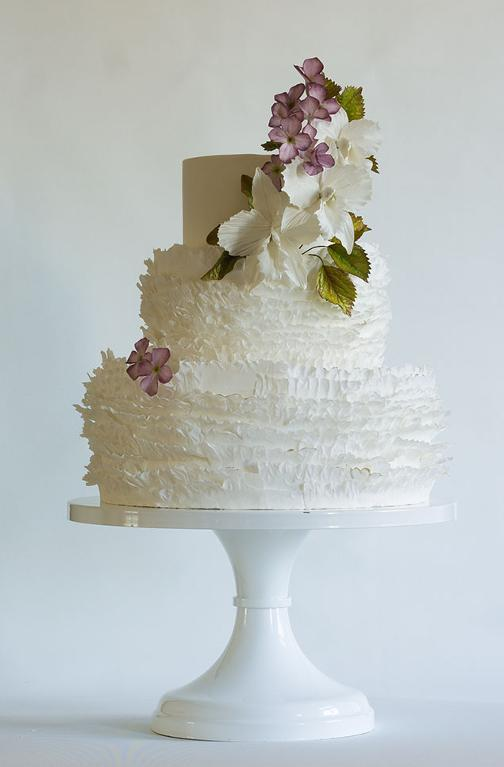 Frilled cake by Craftsy member ModernLovers