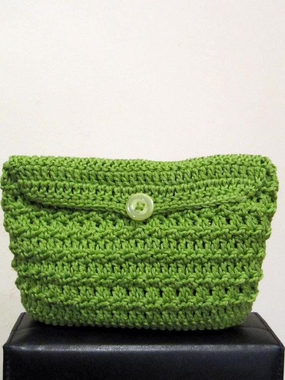 Afternoon Clutch crochet pattern
