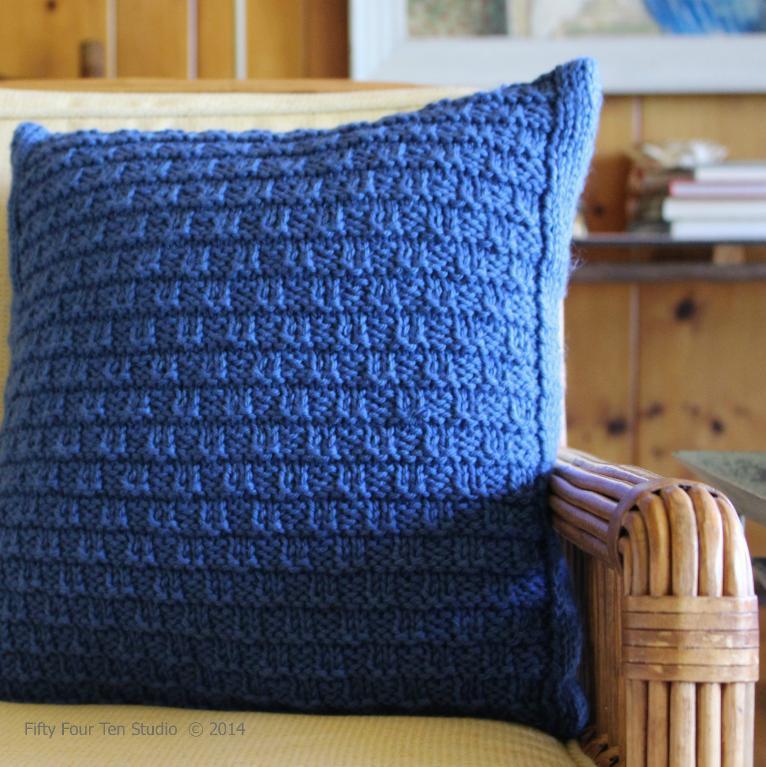 Bay View Pillow knitting pattern