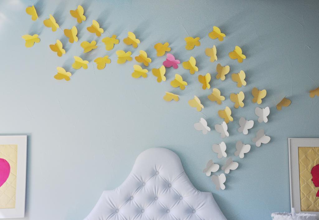Butterfly Paper Bluprint Template