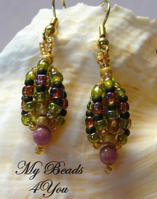 Beaded Earrings Pattern