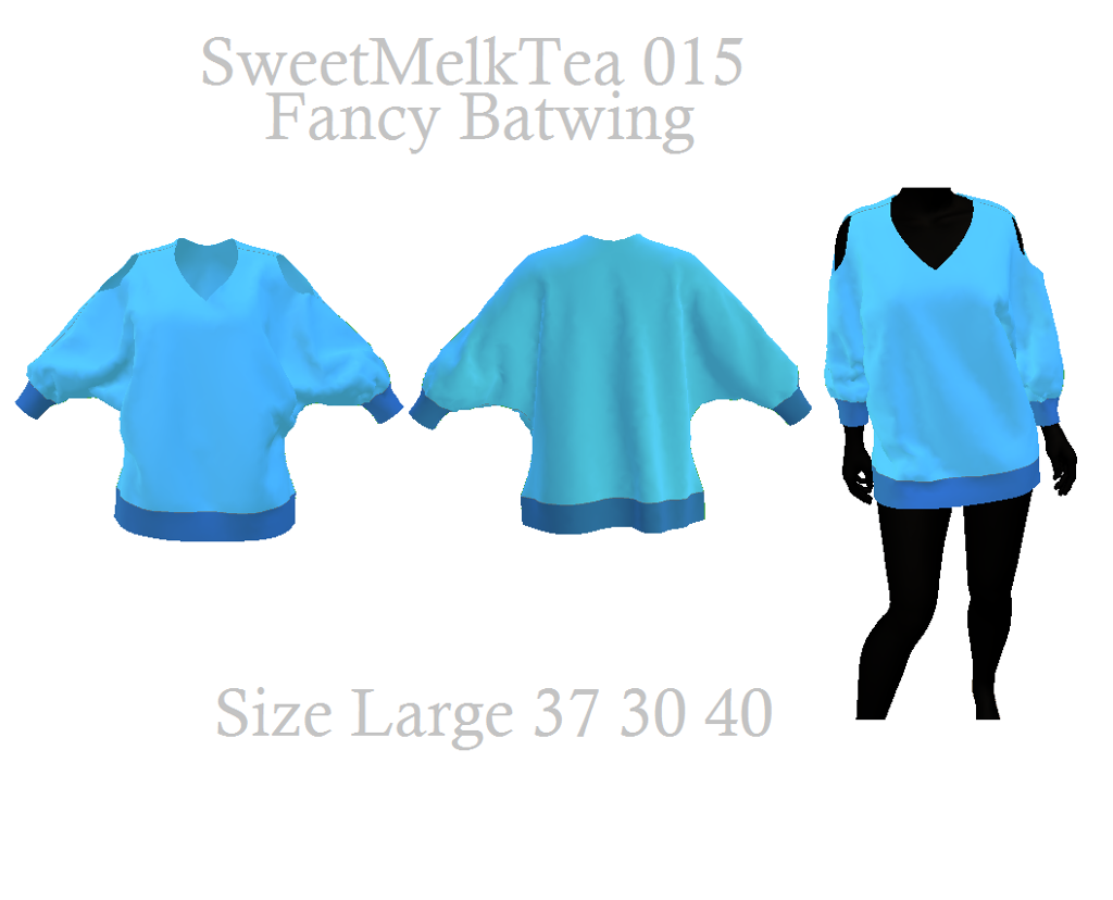 Fancy Batwing top sewing pattern