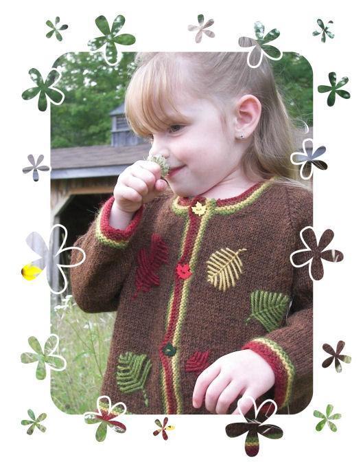 Autumn Leaves Knit Jacket