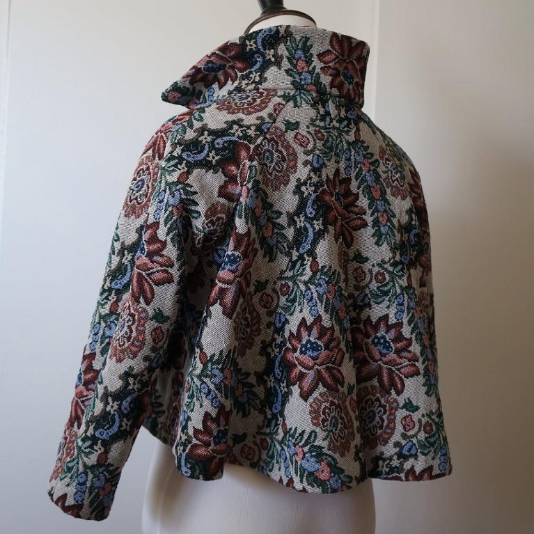 Short swing jacket by a Craftsy member