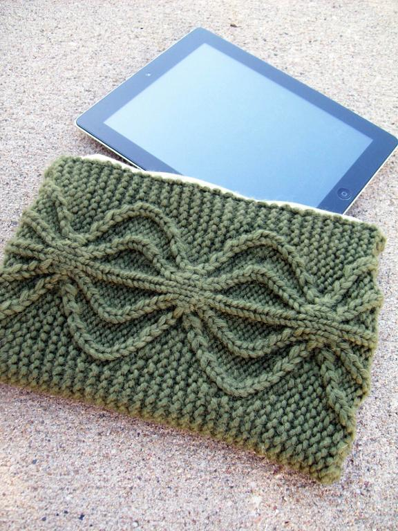 iPad or Kindle Case knitting pattern