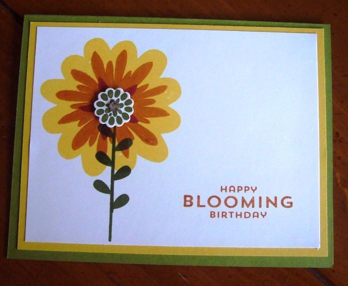Autumn Birthday Card