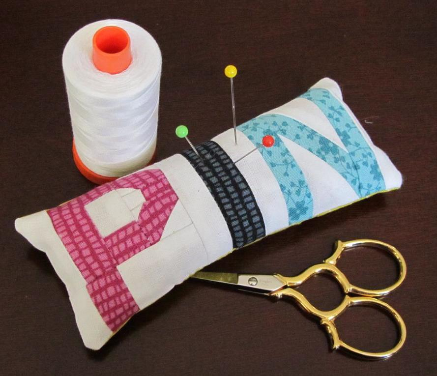 PIN Pillow paper pieced pattern