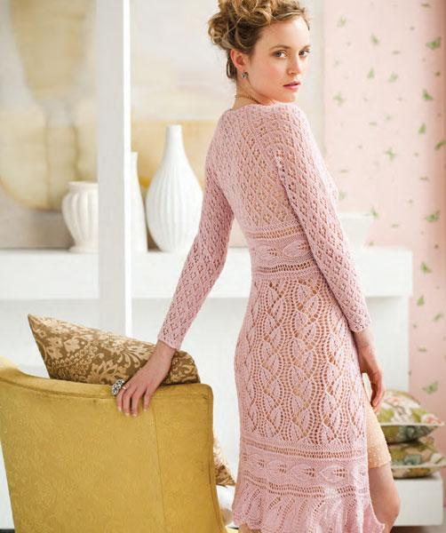 Lace Coat Knitting Pattern