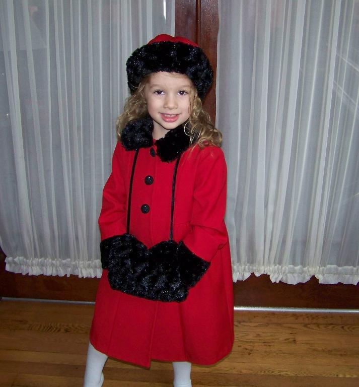 fur hat, muff and collar