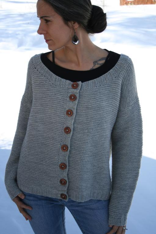 Celsius Cardigan knitting pattern