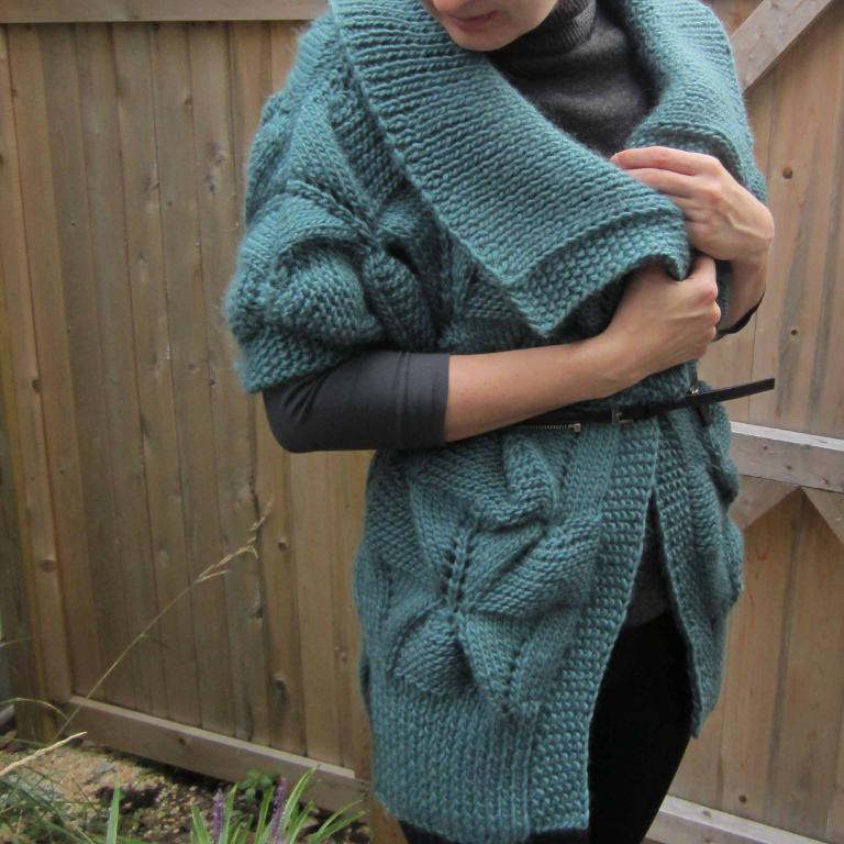 Stella Coat knitting pattern