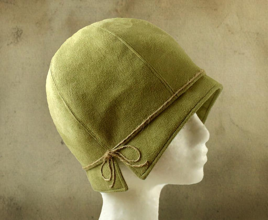 Lois 1920s Cloche hat sewing pattern