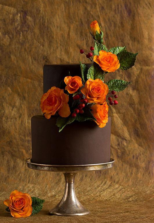 Fall wedding cake by Bluprint member ModernLovers