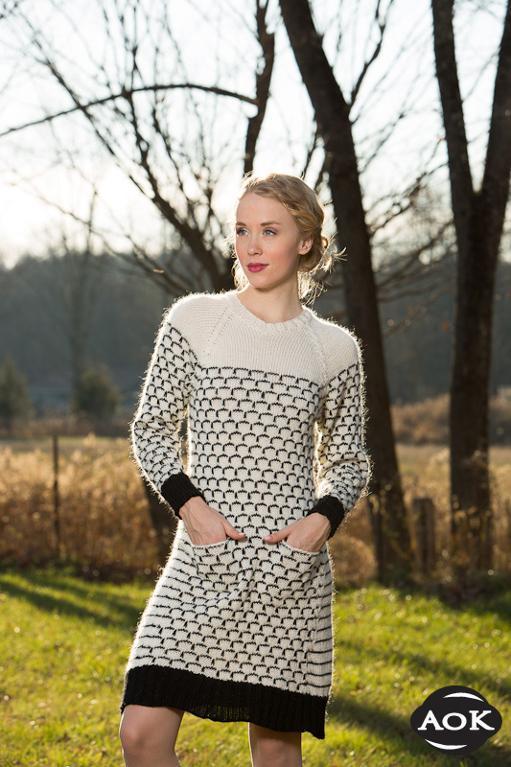 Woodstock Dress knitting pattern