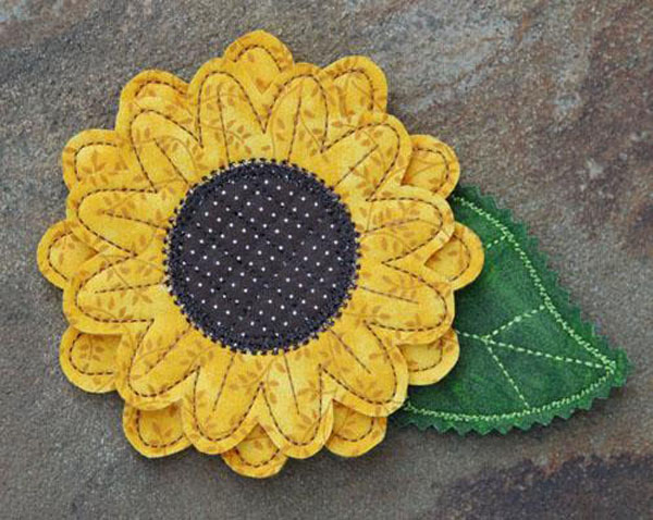Sunflower Pinor Magnet