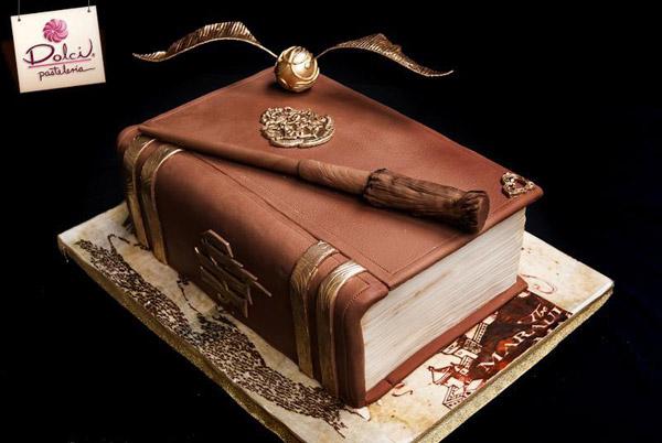Harry Potter cake by Bluprint member Dolci Pasteleria