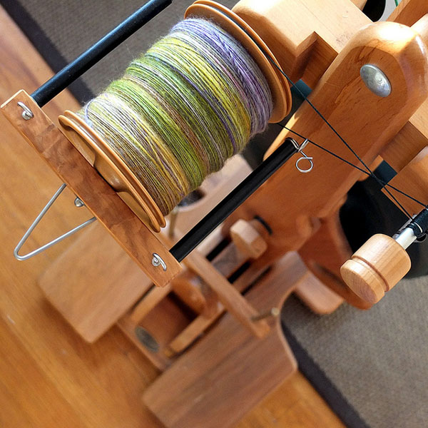 full bobbin of yarn