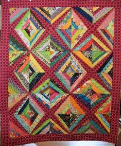 Tangled in the Kite Strings pattern
