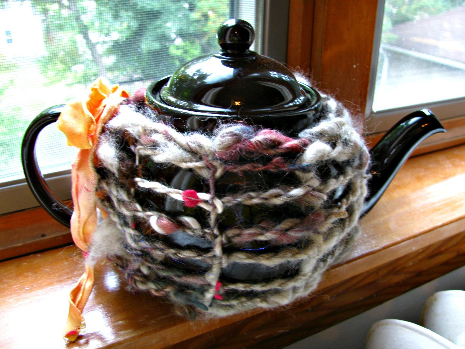Project using art yarn