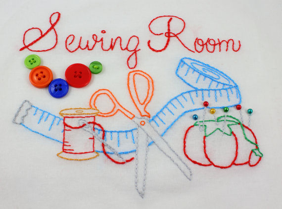 Sewing Room pattern by KimberlyOuimet