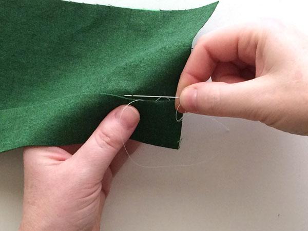 handsew the slipstitch step 6