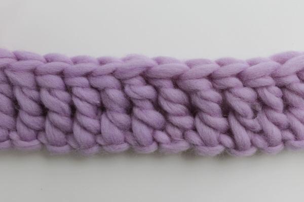 Treble crochet stitch