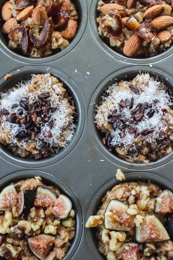 Frozen Oatmeal Cups