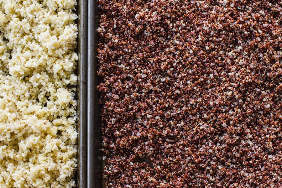 Frozen Quinoa and Millet
