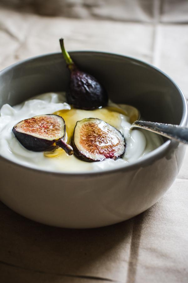 Yogurt Honey and Figs