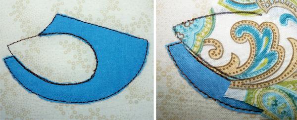 Wing stitching
