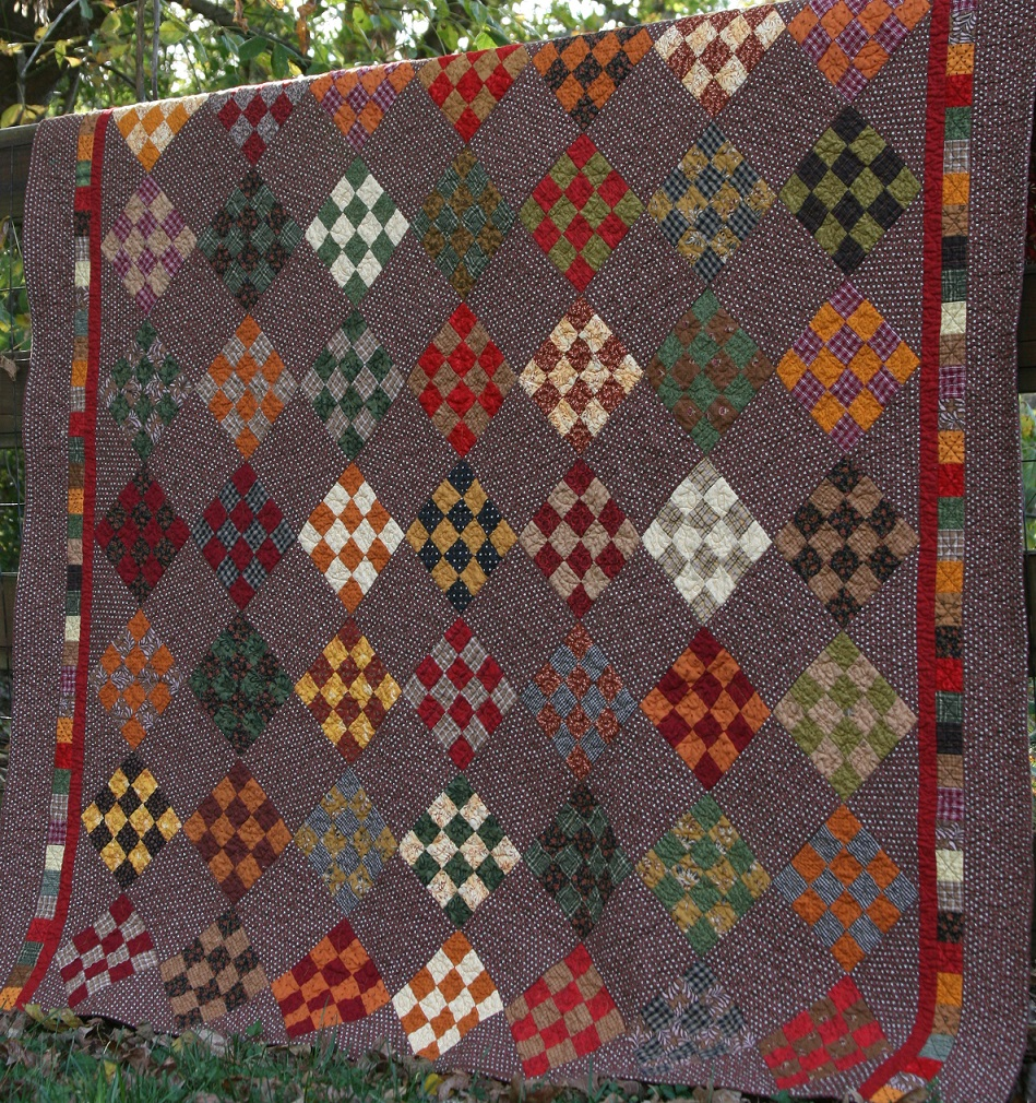 When Fall Leaves Quilt