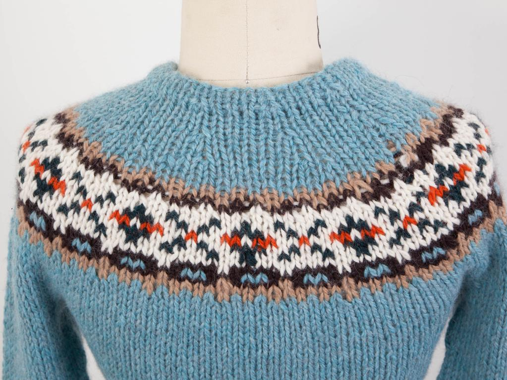 Band Colorwork Yoke Pullover knitting pattern