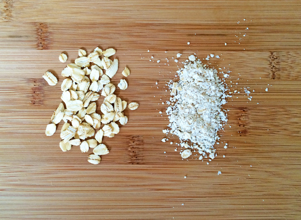 ground rolled oats
