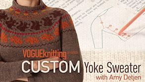 Custom Yoke Sweater