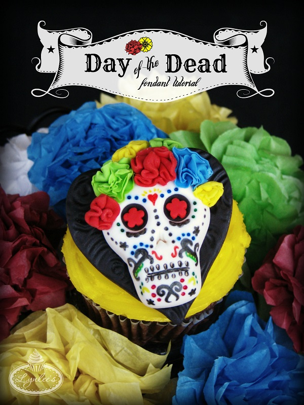 Day of the Dead fondant tutorial