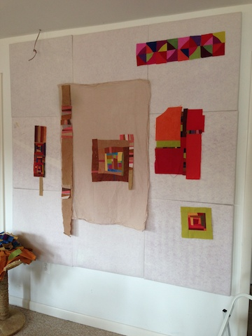 Design Wall Using Foam Insulation squares
