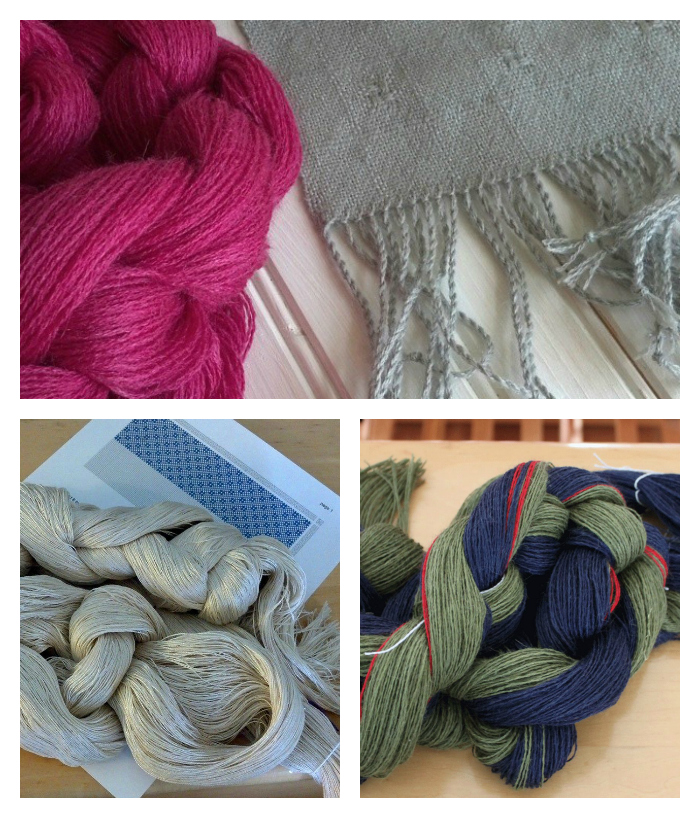 Yarns and weaving projects from Kate Kilgus
