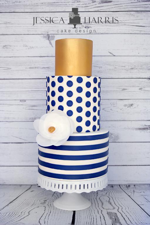 Large Polka Dot Cake Design