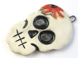 Sugar Skull handmade by Marla James