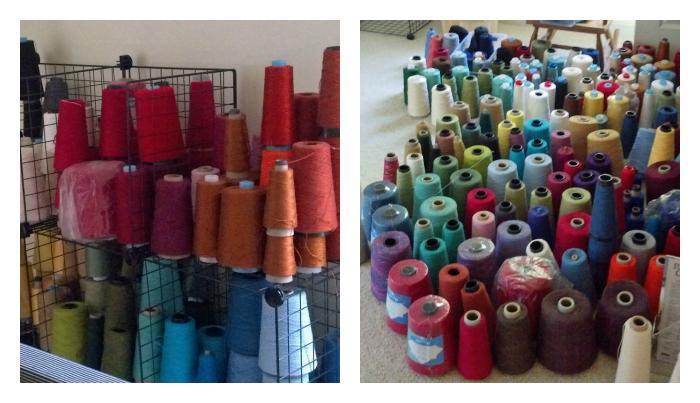 Kate Kilgus / Nutfield Weaver - Weaving Yarn Stash