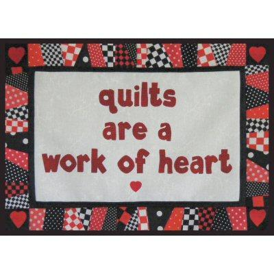 Quilts are a Work of the Heart