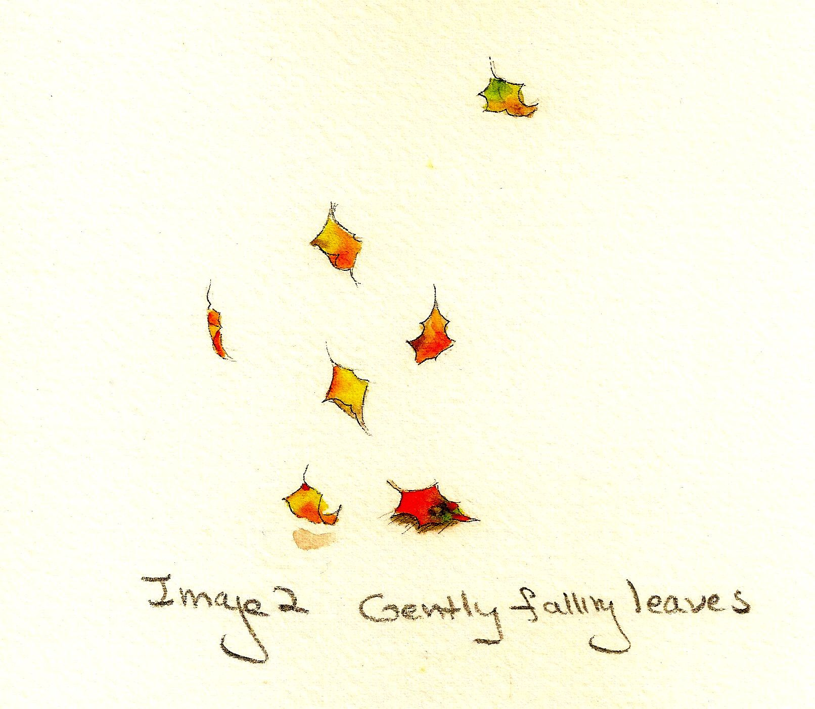 Gently falling leaves
