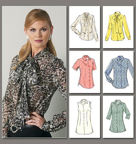 classic blouse Vogue 8772