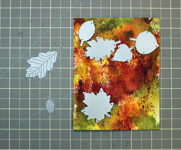 Die Cut Finished Cardstock