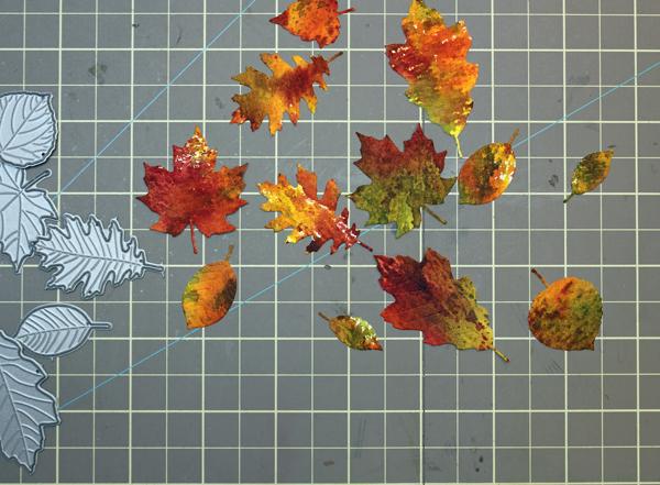 Die Cut Leaves