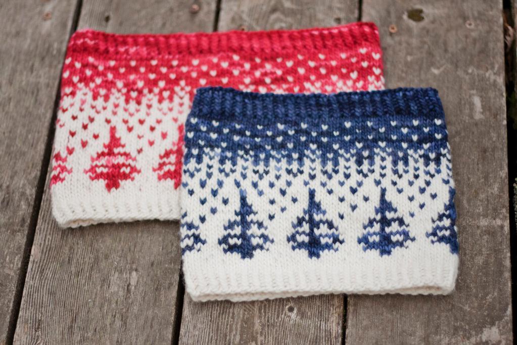 Winter-themed Eivor Cowl Pattern